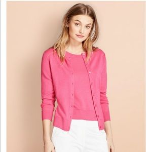 Brooks Brothers Pink Wool Cardigan